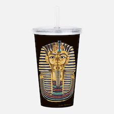 Tutankhamon's Mask Acrylic Double-wall Tumbler