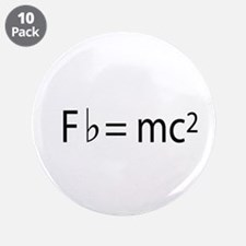 """musician's physics 3.5"""" Button (10 pack)"""