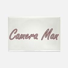 Camera Man Artistic Job Design Magnets