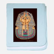 Tutankhamon's Mask baby blanket