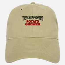 """The World's Greatest Potato Grower"" Baseball Baseball Cap"