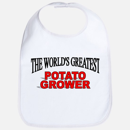 """The World's Greatest Potato Grower"" Bib"