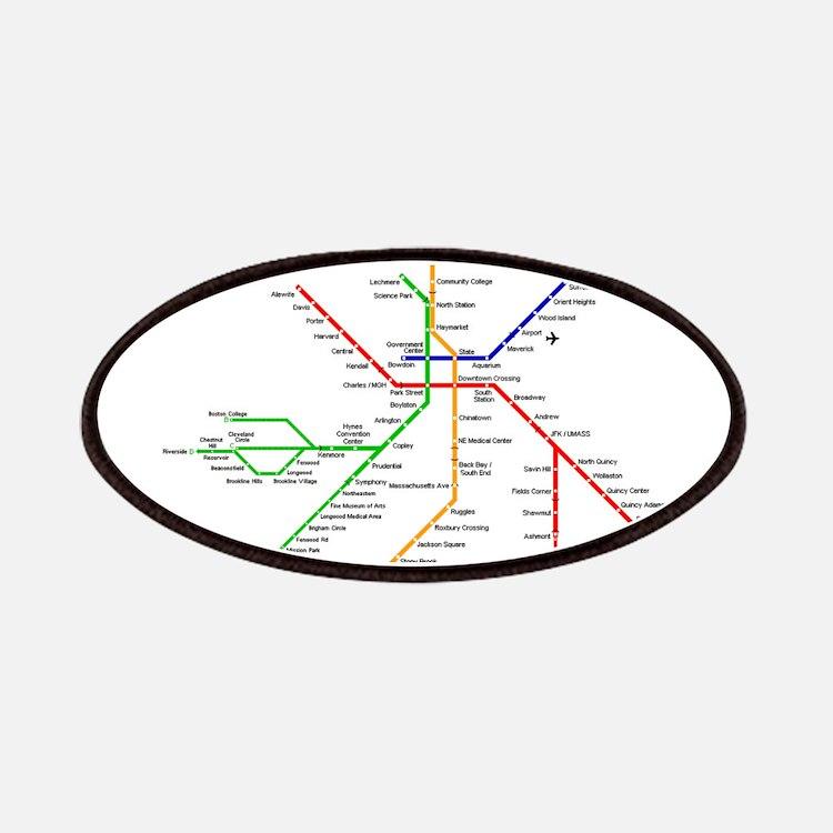 Boston Rapid Transit Map Subway Metro Underg Patch