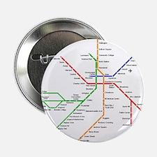 "Boston Rapid Transit Map S 2.25"" Button (100 pack)"