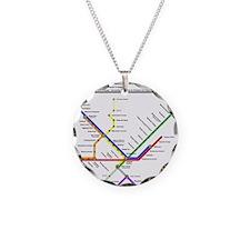 Metropolitan Transportation Necklace