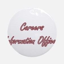 Careers Information Officer Artis Ornament (Round)