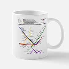 Metropolitan Transportation Detroit Transit S Mugs