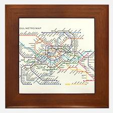 Unique Metro Framed Tile