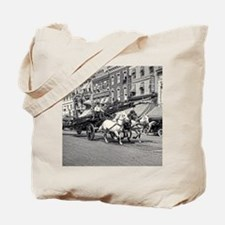 Funny Horse themed Tote Bag