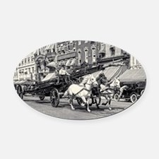Cute One of a kind Oval Car Magnet
