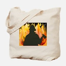 Funny Firefighters Tote Bag
