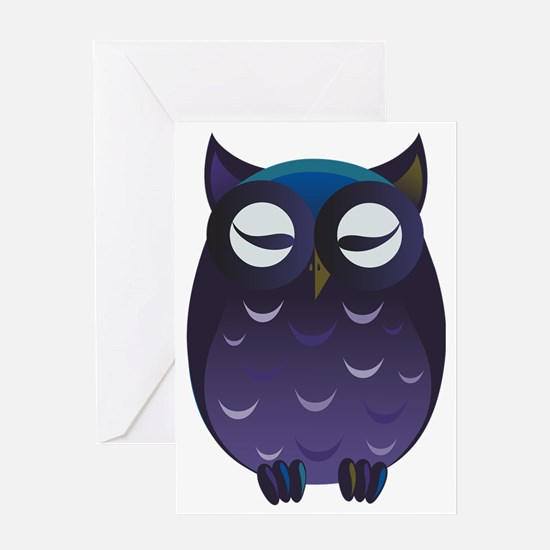 Unique Owl baby shower Greeting Card