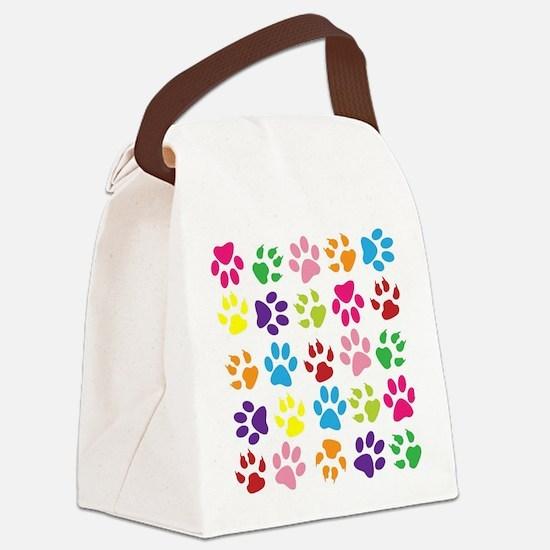 Cute Pets Canvas Lunch Bag