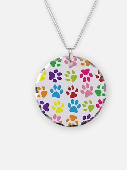 Cute Pets Necklace Circle Charm