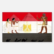 Egyptian Graphic Sticker (Rectangle)