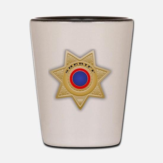 Cute Sheriff Shot Glass