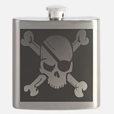 Unique Pirate ship Flask