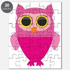 Cute Baby shower owl Puzzle