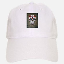 Sugar Skull (color) Baseball Baseball Cap