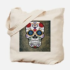 Sugar Skull (color) Tote Bag