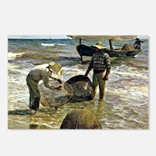 Sorolla - Valencian Fishe Postcards (Package of 8)