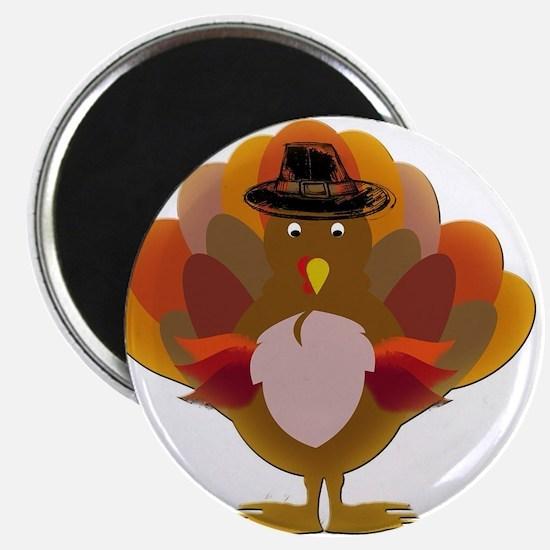 Cute Thanksgiving Turkey Magnets