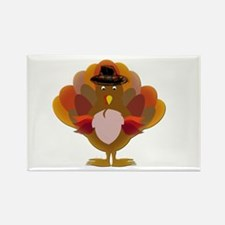Cute Thanksgiving Turkey Magnets