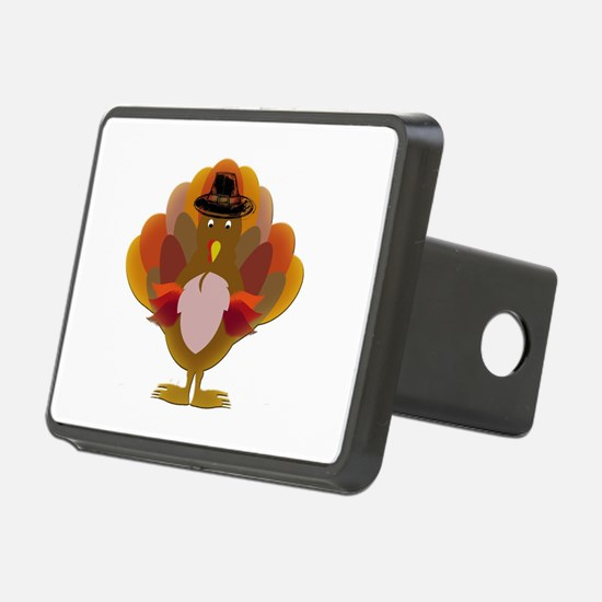 Cute Thanksgiving Turkey Rectangular Hitch Cover