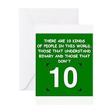 math jokes gifts and t-shirts Greeting Card