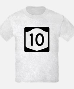 State Route 10, New York T-Shirt