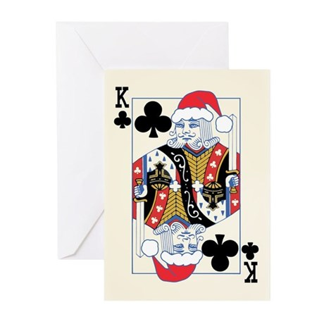 """Ho Ho Hold'Em"" Holiday Greeting Cards (20 pk)"