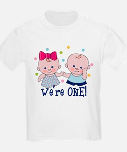 We're One Boy & Girl T-Shirt
