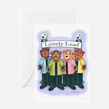 Lead, Female - Harmony Greeting Card