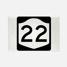 State Route 22, New York Rectangle Magnet