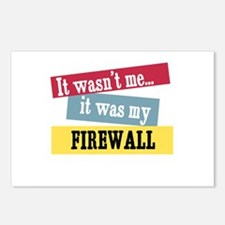 Firewall Postcards (Package of 8)