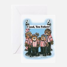 Lead, Male - Harmony Greeting Card