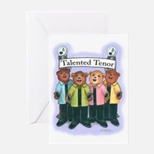 Tenor, Female - Harmony Greeting Card