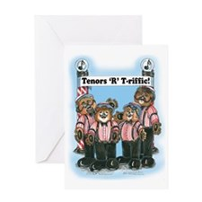 Tenor, Male - Harmony Greeting Card