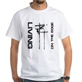 Lineman Mens White T-shirts