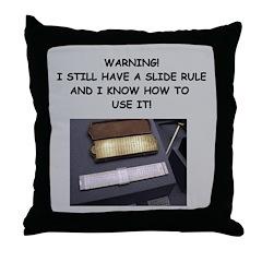 mathematics gifts t-shirts pr Throw Pillow