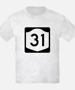 State Route 31, New York T-Shirt