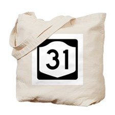 State Route 31, New York Tote Bag