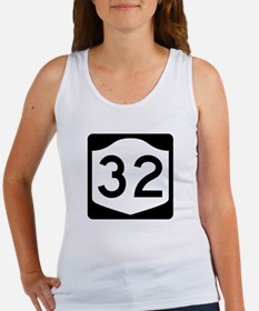 State Route 32, New York Women's Tank Top