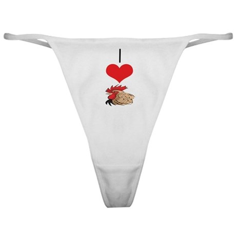 Chicken/Rooster Classic Thong