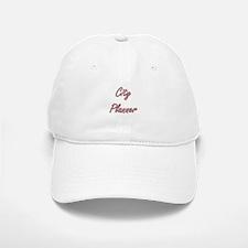 City Planner Artistic Job Design Baseball Baseball Cap