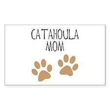 Catahoula Mom Rectangle Decal