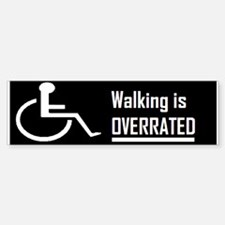 wheelchair Bumper Bumper Bumper Sticker