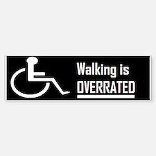 wheelchair Bumper Car Car Sticker