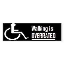 wheelchair Bumper Car Sticker