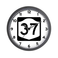 State Route 37, New York Wall Clock